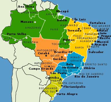 Carte Administrative Bresil.Gouvernance Et Pratiques Urbaines A Rio De Janeiro